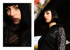 Lucy (Toby Blench) Tags: portrait editorial style fashion model beauty woman beautiful diptych