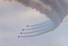 Red Arrows (Articdriver) Tags: royalairforce raf aircraft jet redarrows display scampton lincolnshire hawk greatbritain lincoln sky smoke