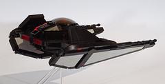 TIE Razor (Librarian-Bot) Tags: starwars moc lego tie fighter starfighter