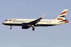 British Aiways A320 NEO G-TTNF at Heathrow Airport LHR/EGLL (dan89876) Tags: british airways airbus a320 neo a320neo a320251n gttnf london heathrow international airport landing runway 27l arrival lhr egll aviation