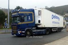 132 C 2724, Scania R500, Delaney,International, P1320168 (LesD's pics) Tags: truck lorry scaniar500 delaney 132c2724