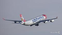 Airbus A340-313, Edelweiss Air, HB-JMD (maxguenat) Tags: lszh zurich kloten spotter spotting avion aircraft airplane airplanes