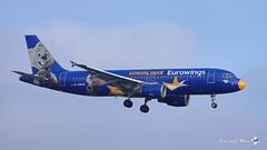 "Airbus A320-214, Eurowings livré ""Europa Park"", D-ABDQ (maxguenat) Tags: lszh zurich kloten spotter spotting avion aircraft airplane airplanes"