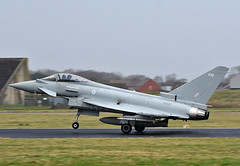 ZK436 (np1991) Tags: royal air force coningsby cby lincolnshire england united kingdom uk nikon digital slr dslr d7200 camera nikor 70200mm vibration reduction vr f28 lens eurofighter typhoon fgr4 aviation planes aircraft