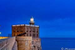 F A R O (josmanmelilla) Tags: melilla españa mar agua amaneceres cielo mediterraneo azul
