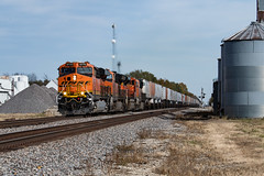 Z9 on the Santa Fe. (Shane692) Tags: bnsf burligrton ge gevo railroad railfanning railroads railfans rails rail row railroading railfan american nikon