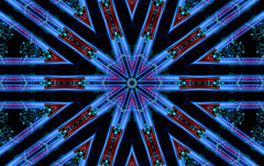 kaleidoscopic jack (pbo31) Tags: bayarea california nikon d810 night january 2020 boury pbo31 winter dark color kaleidoscope kaleidoscopic pattern blue lights black alamedacounty house christmas holidays eastbayneigborhood