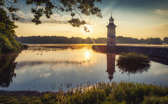 it is time for spring to come back (mad_airbrush) Tags: eos eosr r saxony sachsen germany deutschland moritzburg leuchtturm leuchtturmmoritzburg landschaft landscape hdr hdri luminar sonnenaufgang sunset sunlight haida haidafilters nd ndfilter filter lighthouse 1740mm ef1740mmf4lusm