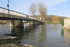 L'Indre à Veigné (Indre-et-Loire) (Sokleine) Tags: indre water eau river rivière affluent pont bridge 1mois 1thème veigné indreetloire 37 touraine france europe