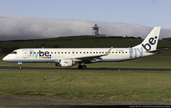 Flybe Embraer 195 G-FBEK @ Isle of Man Airport (EGNS/IOM) (Joshua_Risker) Tags: isle man airport egns iom ronaldsway plane aircraft aviation avgeek flybe embraer 195 e195 emb195 gfbek