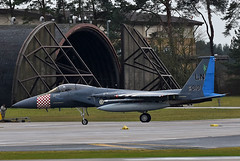 The King (np1991) Tags: royal air force raf lakenheath ln suffolk england united kingdom uk nikon digital slr dslr d7200 camera nikor 300mm prime f28 lens aviation planes aircraft usa states america us american usaf europe usafe f15c f15 eagle 493rd 493 fighter squadron fs grim reapers 48th finger wing fw operations group og heritage 75th anniversary dday 840010