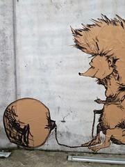 le fou sans clou / Bijloke - 25 jan 2020 (Ferdinand 'Ferre' Feys) Tags: pasteup wheatpaste gent ghent gand belgium belgique belgië streetart artdelarue graffitiart graffiti graff urbanart urbanarte arteurbano ferdinandfeys