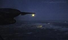 Dash of Dawn 2012_01 (Greg Reed 54) Tags: dehavillanddash8 dhc8 8 flight aviation aerial dover delaware moon luna dawn morning