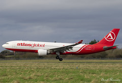 AtlasGlobal A330-200 TC-AGD (birrlad) Tags: shannon snn international airport ireland aircraft aviation airplane airplanes airline airliner airways airlines arrival arriving approach finals landing runway atlasglobal ferried storage return lessor airbus a330 a332 a330200 a330203 tcagd kk901 istanbul