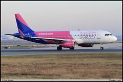 """AIRBUS A320 232 """"WIZZ AIR"""" HA-LYW 7695  Frankfurt décembre 2019 (paulschaller67) Tags: airbus a320 232 wizzair halyw 7695 frankfurt décembre 2019"""
