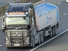 LJS Of Settle, Volvo FH (FH16LJS) On The A1M Southbound (Gary Chatterton 8 million Views) Tags: ljsofsettle volvotrucks volvofh fh16ljs tarmactrailer trucking wagon lorry haulage distribution logistics transport motorway flickr canonpowershotsx430 photography