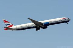 G-STBA (Andras Regos) Tags: aviation aircraft plane fly airport lhr egll heathrow spotter spotting takeoff ba britishairways speedbird 777 b77w 777300er