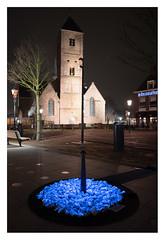 Levenslicht, Naaldwijk (leo.roos) Tags: kunst nl blau cz amount 2020 darosa sal24f20z distagon2420za distagont224 leoroos sony242 a7rii sonycarlzeiss24mmf2zassmdistagon levenslicht blue auschwitz westland holocaustmonument naaldwijk daanroosegaarde luminescentstone longexposure church night kerk oudekerk wilhelminaplein 13thcentury light art