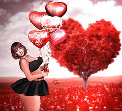 #1785 SchlappOhrStyle (BlogOwner : SchlappOhrStyle) Tags: sassysweetpose balloons valentines hearts love iloveyou pose prettydeceased velvetinaset doux melanie maitreya genus bow bemine happy inlove swallow princess romantic feelings