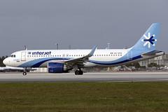 XA-APA - Airbus A320-251N - Interjet - KMIA, Jan 2020 (peachair) Tags: xaapa airbus a320 251 neo mia kmia 7581 interjet