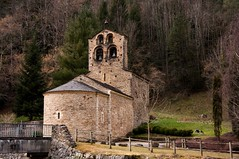Couflens-Salau (Ariège) (PierreG_09) Tags: ariège pyrénées pirineos couserans clocher église couflenssalau salau occitanie eu couflens roman romanic nd notredame