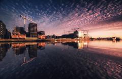 Dublin 2020 (Anthony_Murray) Tags: dublin reflection building crane liffey reiver morning sky cloud