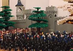 Prepare for the battle (Lego Castle MOC) Tags: lotr lego moc castle battle got