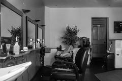 25-366 - Snip Snip (Ian Livesey) Tags: shop carnforth 20200125 bw barbers