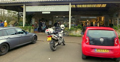 Hassop Cafe.. (Mike-Lee) Tags: longstoneedge peakdistrict cagivanavigator1000 bike motorbike mike jill jan2020 derbyshire hassopcafe