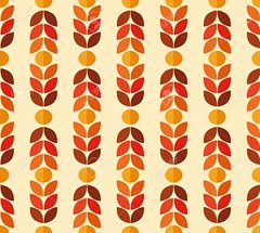Seamless pattern (khaleeristormborn) Tags: revival revivalism vintage 70s colorfull orange abstract backdrop background decoration geometric pattern repeat repetition seamless shape simple style symbolic textile wallpaper decorative design texture ornament ornate