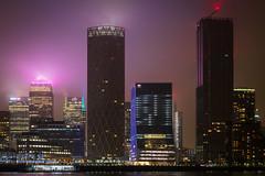 City of London, London, England, United Kingdom, GB (godrick) Tags: night england london cityoflondon gb dark europe misty unitedkingdom skyline cityscape foggy