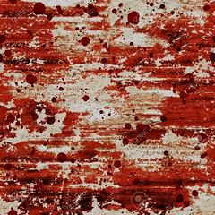 Bloody blood red grunge abstract seamless pattern background (khaleeristormborn) Tags: crime murder pain halloween background grunge blood seamless pattern red bloody dirty stain splat horror blot damaged distressed messy old rough spotted weathered stained torn wall watercolor watercolour destruction evil nightmare ruined spooky grungy body danger dead death drop flow health healthy heart hospital human life medical medicine wood wooden