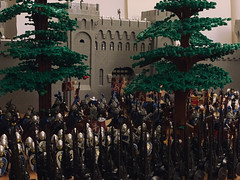 Prepare for the battle! (Lego Castle MOC) Tags: lego moc castle king battle lotr army