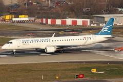 4O-AOA (GH@BHD) Tags: embraer erj erj195 erj195200lr montenegroairlines zrh lszh zurichairport zurich kloten aircraft aviation airliner regionaljet 4oaoa