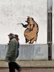 le fou sans clou / Bijloke - 25 jan 2020 (Ferdinand 'Ferre' Feys) Tags: pasteup wheatpaste streetart graffiti belgium belgique belgië graff ghent gent gand graffitiart artdelarue urbanart arteurbano urbanarte ferdinandfeys