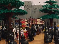 Prepare for the battle! (Lego Castle MOC) Tags: got lego moc castle battle king army lotr