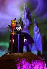 Maleficent (J.Baker Photographies) Tags: macro disney maleficent castle lego canon 5dmark4