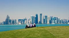 Doha city panorama (Elvir72) Tags: doha qatar panorama city landscape landmark