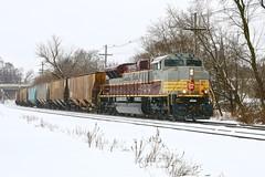 Columbus, Wisconsin (UW1983) Tags: canadianpacific trains cp railroads heritageunits cp7011 columbus wisconsin watertownsubdivision