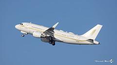Airbus A319-115(CJ)(WL), Sky Prime, HZ-SKY4 (maxguenat) Tags: lszh zurich kloten spotter spotting avion aircraft airplane airplanes