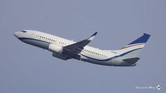 Boeing 737-7GE(BBJ), Hyundai Motor Co, HL8290 (maxguenat) Tags: lszh zurich kloten spotter spotting avion aircraft airplane airplanes