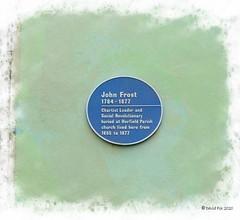 John Frost Blue Plaque (34oldperennial34) Tags: grade2listedbuilding johnfrosthouse bristol cityandcountyofbristol