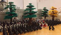 Prepare for the battle! (Lego Castle MOC) Tags: lego moc castle battle army lotr got