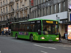 Preparing for Depature (jenkinsbuses) Tags: oxford bus company 841 cf55oxf 6 city centre wolvercote magdalen street