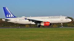 OY-KAP (AnDyMHoLdEn) Tags: scandinavian sas a320 staralliance egcc airport manchester manchesterairport 05r