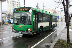 Donan Bus 110 9 99 (Howard_Pulling) Tags: japan japanese bus buses hokkaido muroran donan transport howardpulling
