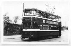 Leeds tram no 265 (Frederick McLean) Tags: englishelectric leeds leedscorporationtramways leedstram tramway tram tramcar dewsburyroad maleytaunton photograph old vintage robertfmack transport