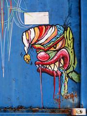 Dumpster Art (J Wells S) Tags: dumpsterart streetart publicart graffiti americansignmuseum camp washington cincinnati ohio urban