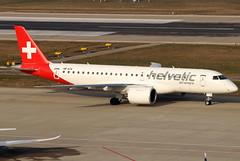 HB-AZA (GH@BHD) Tags: hbaza embraer e190 e290 e190e2 e2 helveticairways zurichairport zurich zrh lszh kloten regionaljet aircraft aviation airliner