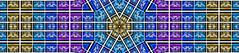 coppola kaleidoscope (pbo31) Tags: bayarea california nikon d810 night january 2020 boury pbo31 winter dark color kaleidoscope kaleidoscopic pattern blue lights napa lightfestival winery panorama large stitched panoramic art